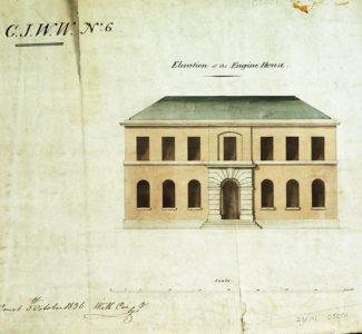 Elevation of Engine House