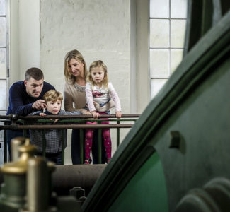Family visits to London Museum of Water & Steam